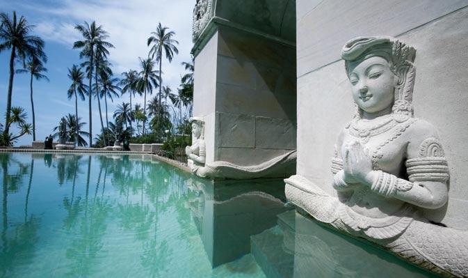 pool at Kamalaya