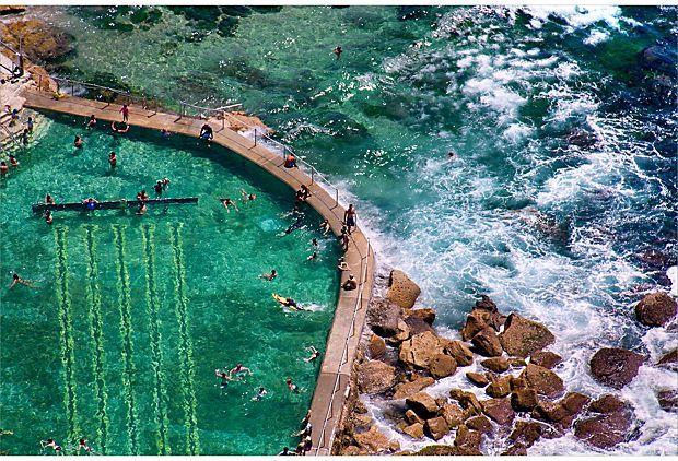 Bronte Beach Rock Pool, Australia