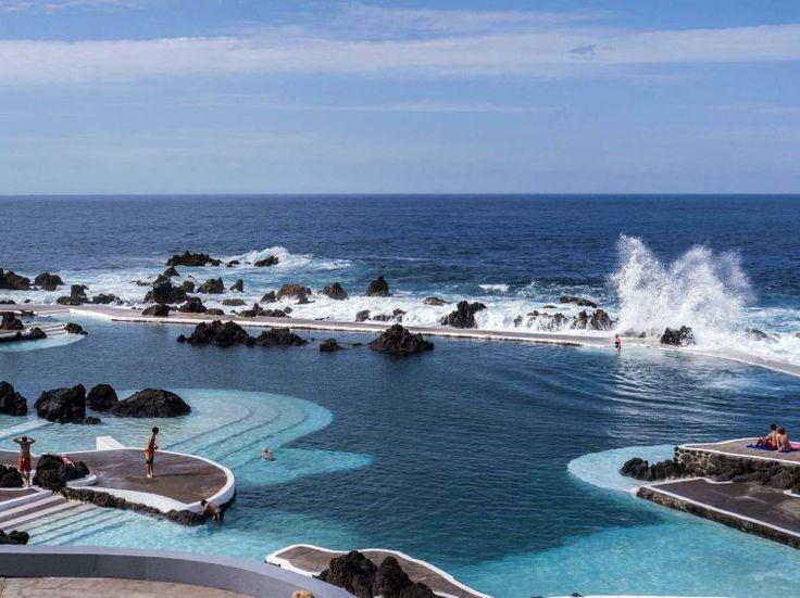 baths at Porto Moniz, Madeira